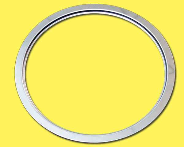 195 embedded hot pot electromagnetic oven round gasket matching stainless steel ring, desktop opening size 200mm