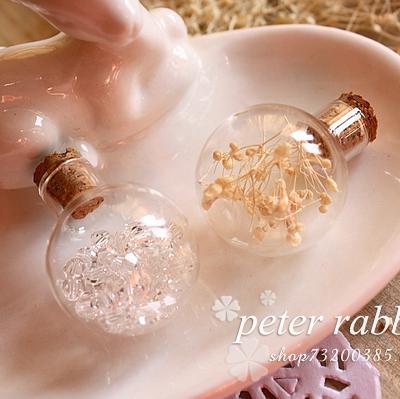 diy水晶球手工制作材料包饰品配件小清新干花玻璃罩项链吊坠批发