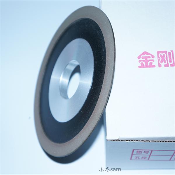 The blade angle of grinding wheel was brand new building of diamond single bevel wheel steel bakelite wheel