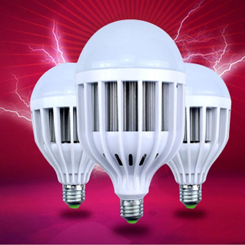 светодиодные лампы светодиодные лампы E27 большой мощности винт единого огня 36W50W100wLED энергосберегающие лампы завод уличный фонарь