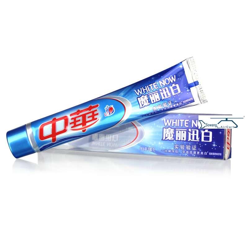 La Magia di dentifricio e Denti Bianco cinese cinese. 100gx2 sbiancamento Denti Bianco dentifricio sostegno per le Macchie di tartaro.