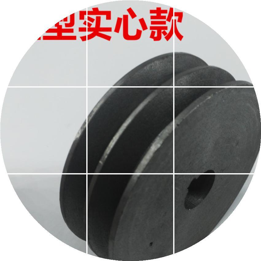 Fabricage van gietijzer riem vast. B - 6 - 50 - 600 lichte zware verdikking.