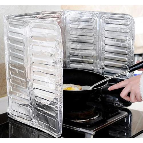 gas isolering film af olie i olie, høj temperatur resistente aluminiumsfolie plask forvirre køkken olie pad arne olie sonarfelt tallerken