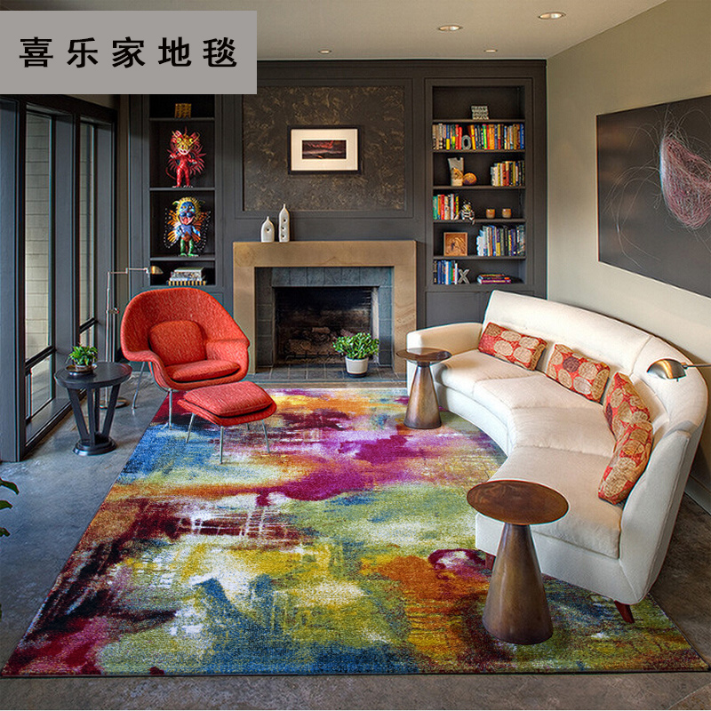 a jelzőt a szőnyeget 水墨 importáljunk minimalista nappali asztalt a hálószoba mellett absztrakt den szőnyeg
