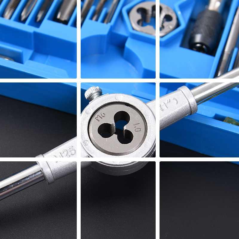レンチダイス绞手機メートル法糸攻グループスーツアイノ斯タップダイス金属の工具で攻め手糸
