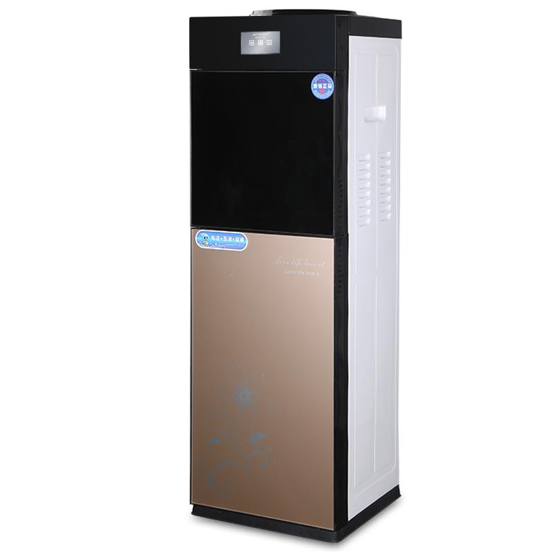 κρύο και ζεστό νερό) κάθετη εντριβών παραγωγής θερμότητας και ψύξης για οικιακή σκόνη επιτραπέζιων γραφείο ζεστό νερό μηχανή πάγου