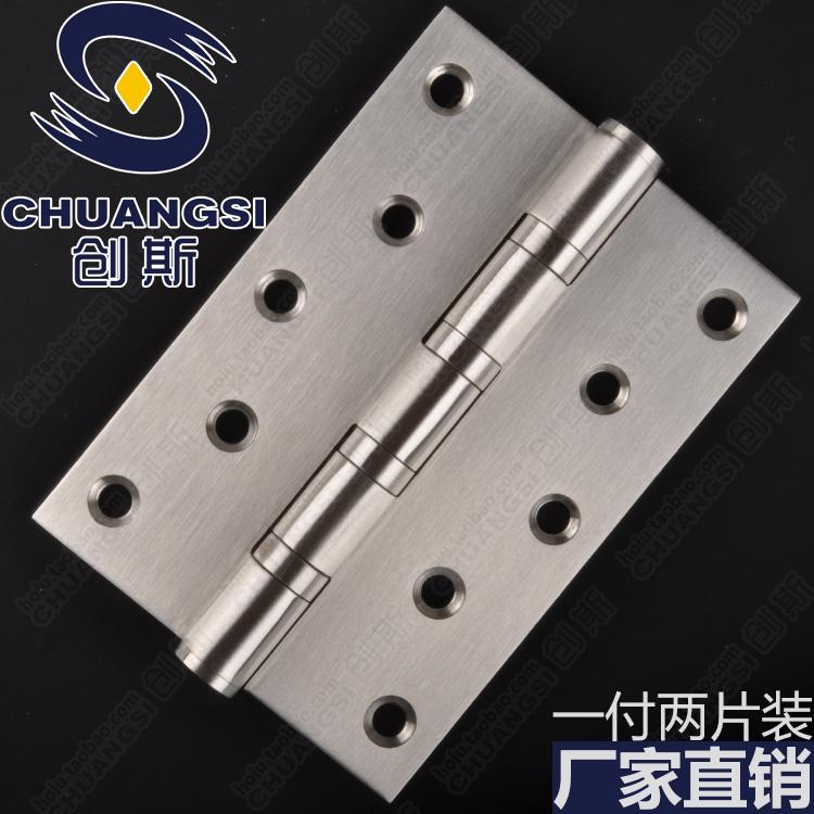 A steel door open door hinge sping Porter wooden hinge 3.5*5 inch thick stainless steel 3MM