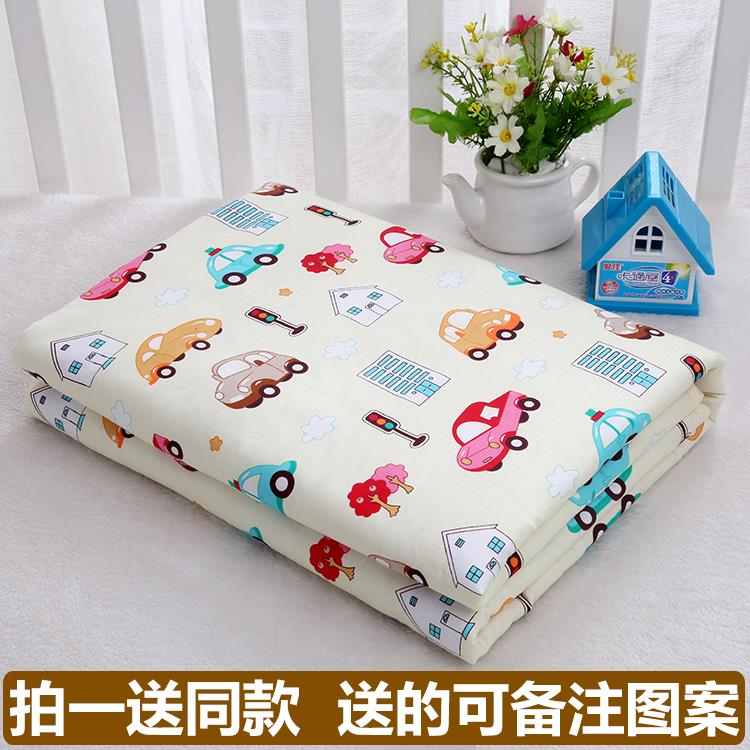Waterproof pad, washable pure cotton, super breathable 1.8 multiplied 2 meter mattress for children, adult menstrual care pad
