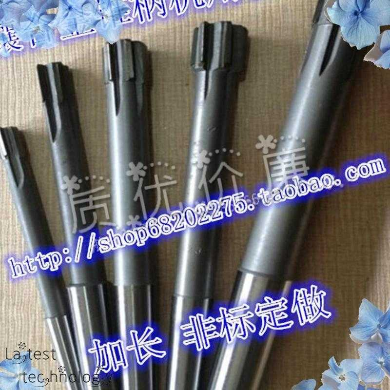 With tungsten alloy reamer with taper shank machine functional