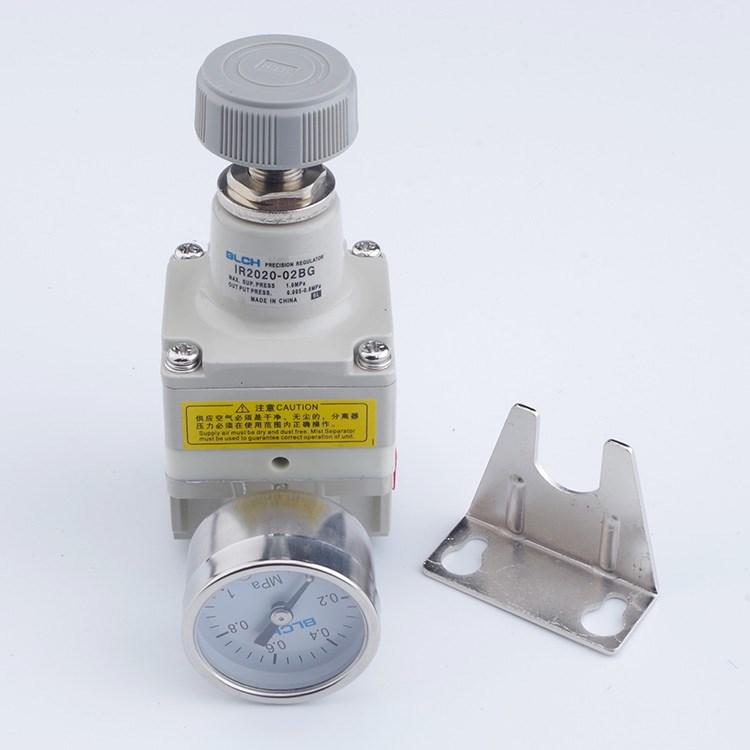 szabályozó szelep pneumatikus szűrő 气源 levegő feldolgozó IR3020-02/03 precíziós nyomáshatároló szelep