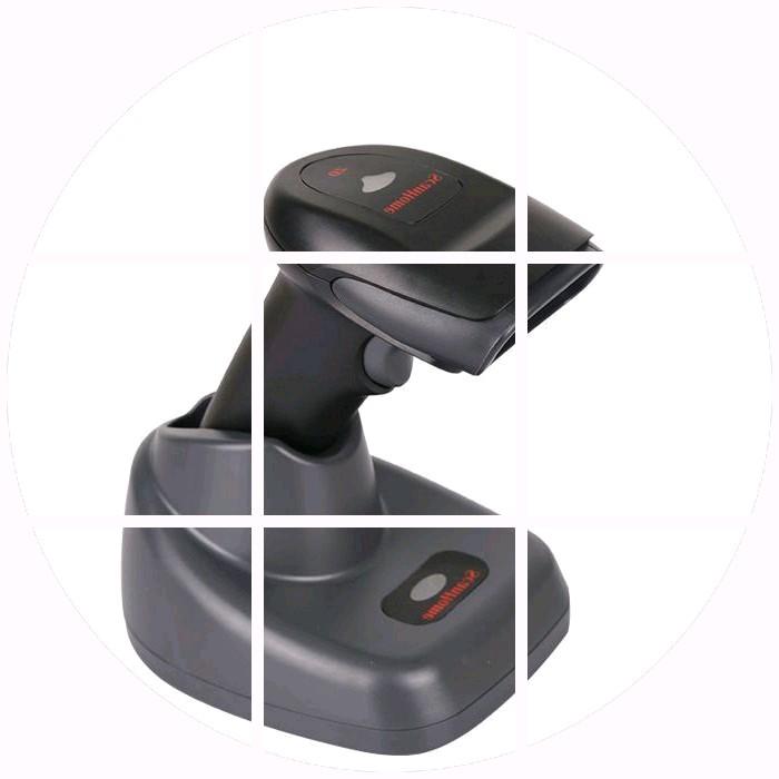 SH-5000-2D ( G ) ไร้สายสแกนปืนที่เก็บในตู้ 2 มิติบาร์โค้ดสแกนเนอร์สแกนปืนด่วนซุปเปอร์มาร์เก็ต