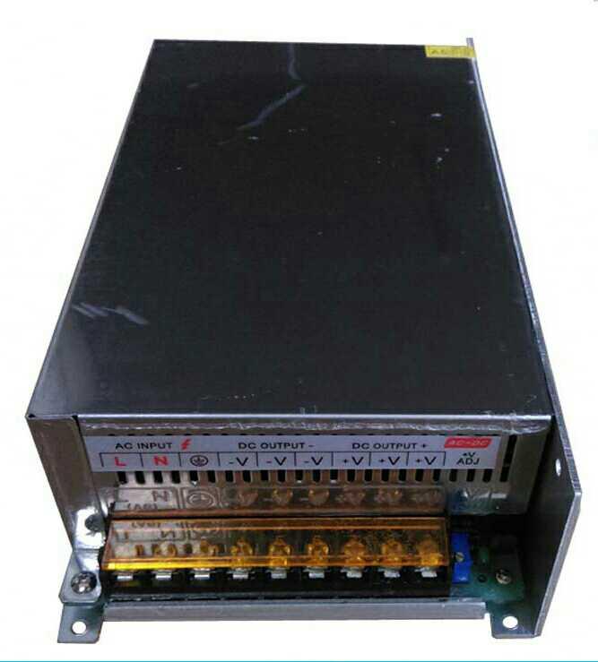Interruptor de alimentação de Alta potência 24V/50A caixa módulo Fonte de alimentação 24V DC Fonte de alimentação Ao transformador.