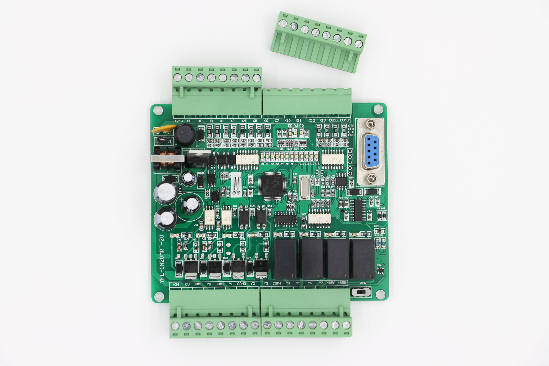 国産板PLC労働者の訴える板FX1N-20MRT支持RS 485時鍾ステッピングサーボモータの暗号化