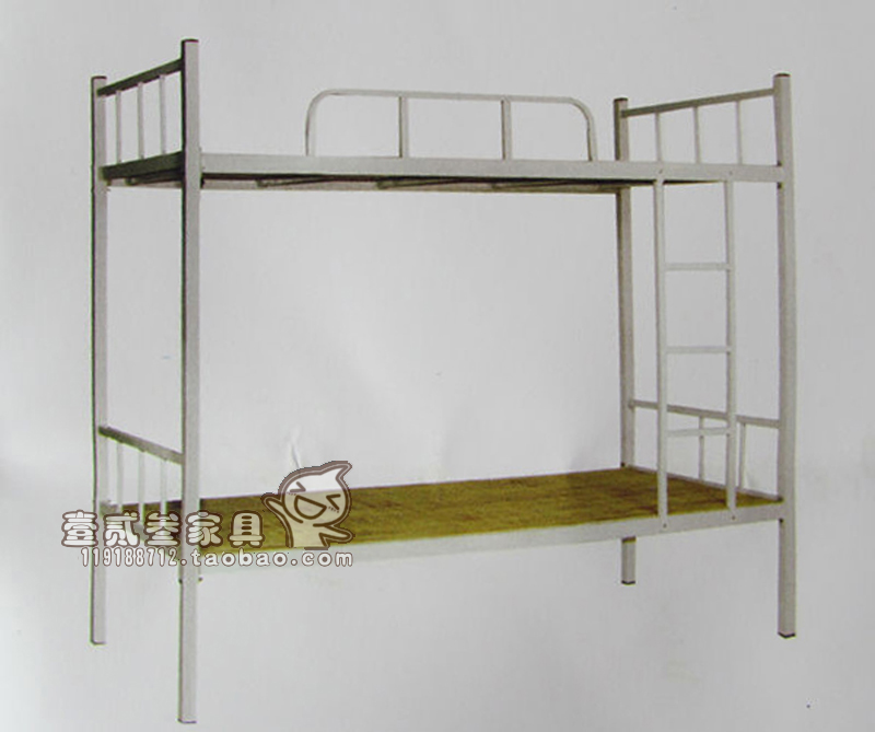 Standard bed double bed bed bunk bed bed dormitory bed apartment portfolio