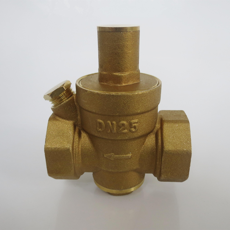 バルブ全銅の水道に減圧バルブをジーナ