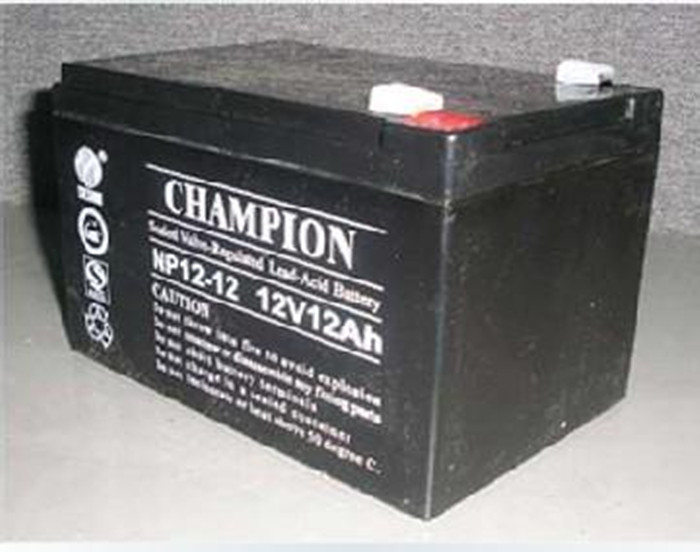 Champion battery NP12-12 champion battery 12V12AH lead acid free maintenance UPS valve controlled battery