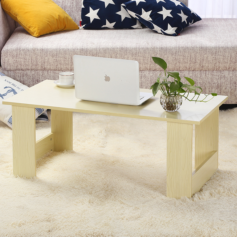 Multifunctional portable folding table desk computer desk on bed table table tatami wood windows