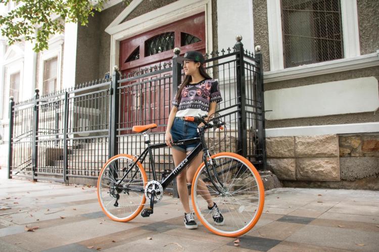El comercio de exportación de las ciudades de Japón en lugar de andar en bicicleta retro bicicletas shimano transmisión especial de los estudiantes