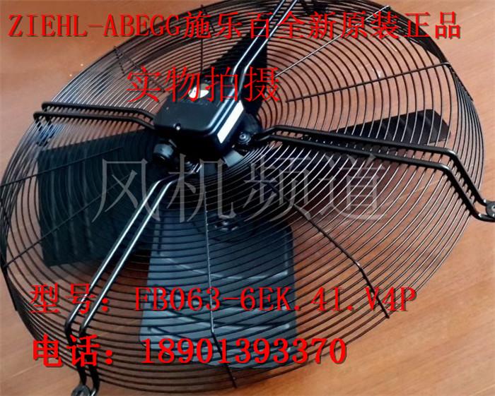FB063-6EK.4I.V4P, German Ziehl-abegg Xerox fan, Haillos air conditioner