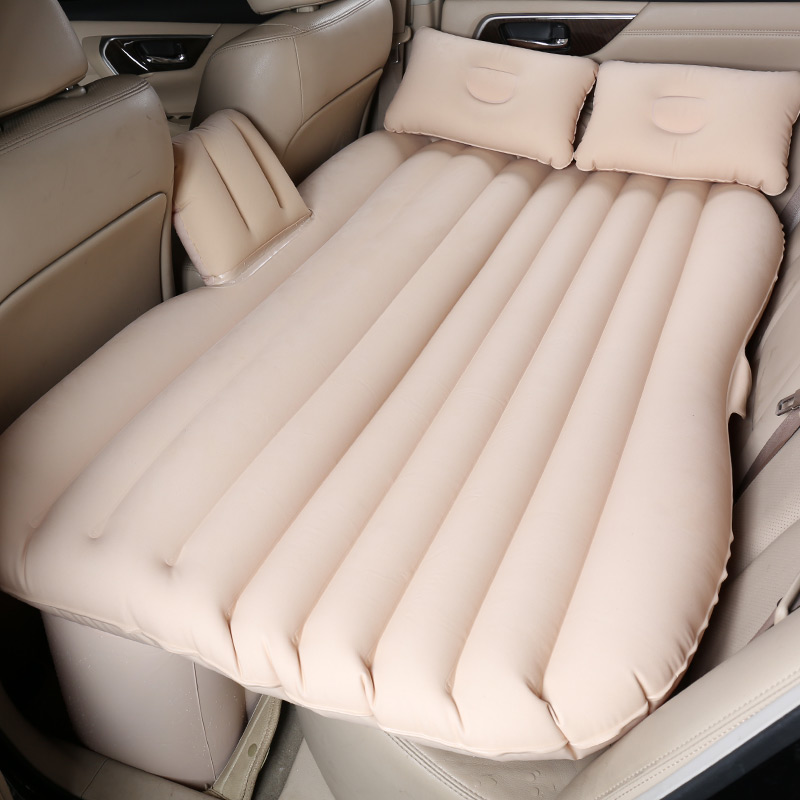 The BMW 35 series sedan car car dazzle overbearing inflatable bed mattress folding travel back to sleep