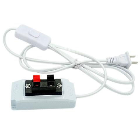 Led lâmpada com interruptor de teste por teste, Ligue o cabo de alimentação cabo clip clip grampo rápido teste de caixa de Luz