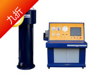 2016 new type of seamless steel cylinder water pressure tester