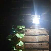 Solar outdoor lighting lamp light waterproof highlighting human induction lamp wall lamp lighting lamps for household