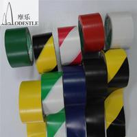 Marking tape, warning zebra crossing bag, mail yellow horse, 48mm twill safety belt, wear-resisting floor, zebra crossing