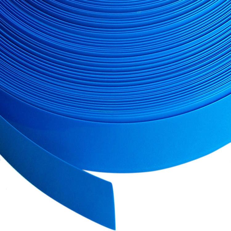 Anchura 45mm azul el tubo de PVC de Phi 28mm batería funda de protección térmica película