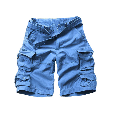 litary style men shorts cargo shorts for man with belt JP001