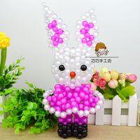 Handmade DIY beads lucky rabbit material package, animal twelve zodiac acrylic acrylic jewelry weaving