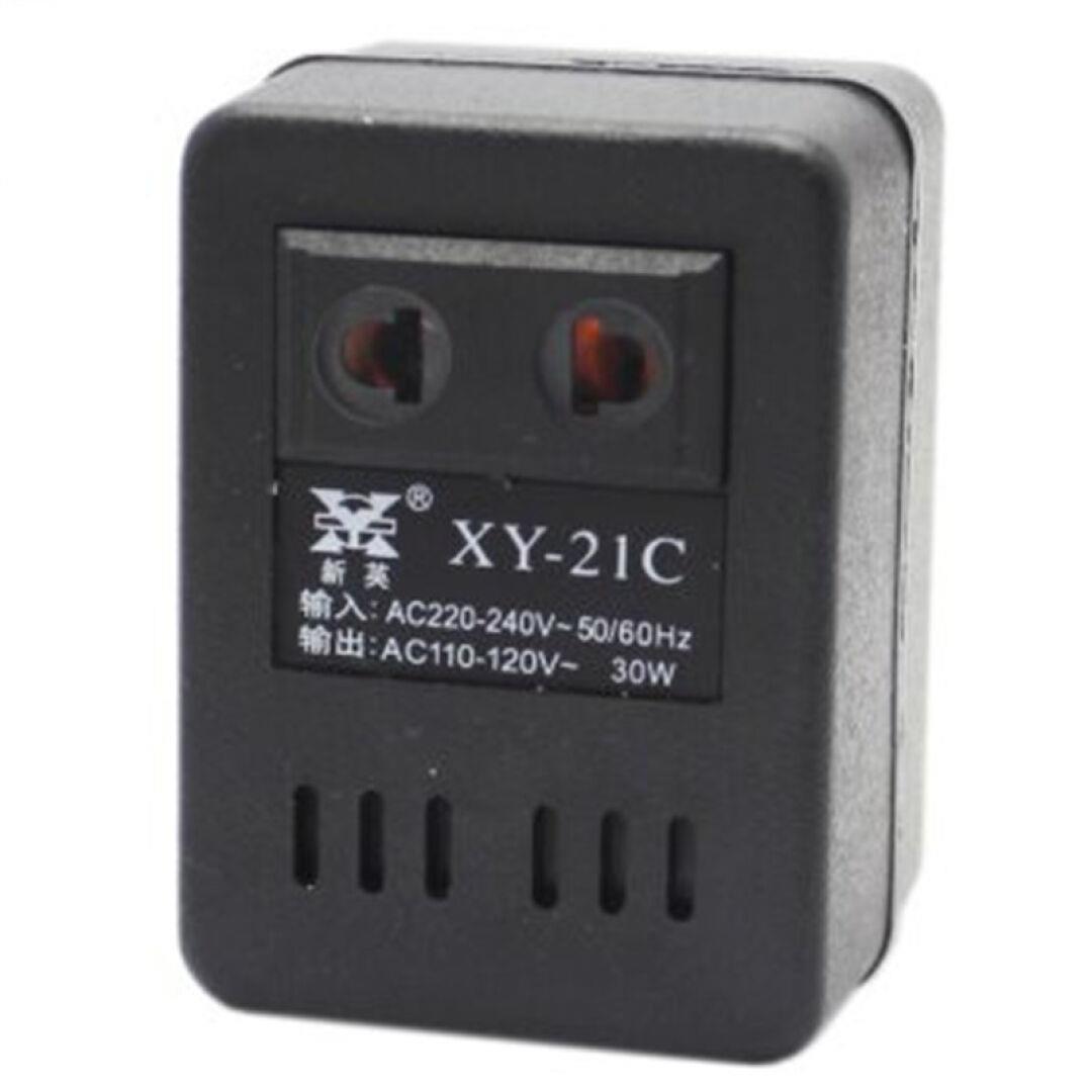 transzformátor xy-21c konnektor 220v fordulj 110v30w feszültségátalakítók hazai használja.