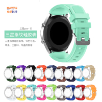 The apple watch strap China Watch Strap Samsung S3 Ticwatch1 22mm general silicone watchband movement