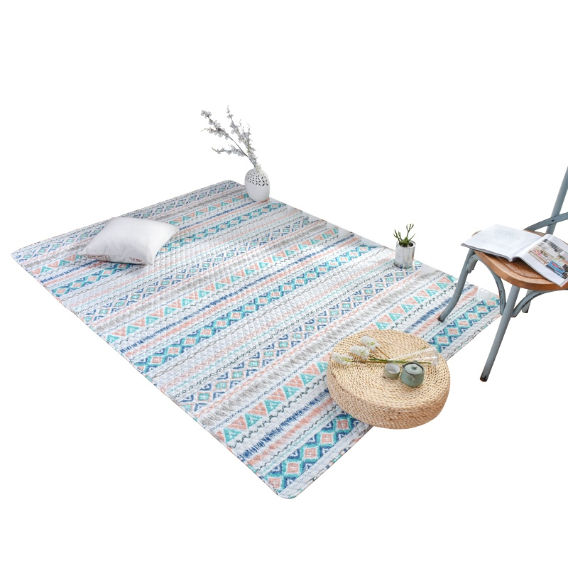 American cotton household baby crawling mat covered with tatami bed cotton blanket machine washable living room table mats