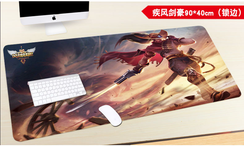 Mouse pad trumpet, super thickening animation game to map customized cute girls creative personalized glue pad meow
