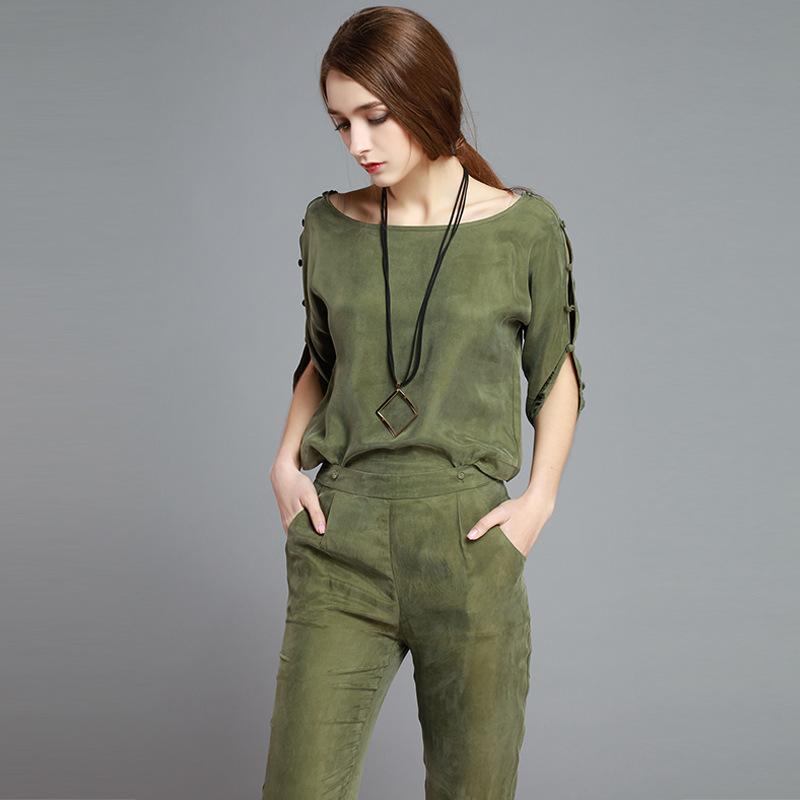Il Tempo Libero in Europa Centrale in Estate cuprammonium rivestiti di Moda Femminile di lusso in Due Pezzi di vestito di SETA di Manica della giacca?