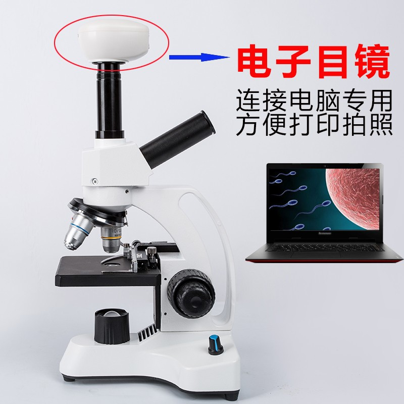 Good-looking laboratory high-definition high times professional bioelectronic microscopes for students to breed special sperm