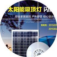 Solar lighting, staircase lights, household solar energy lamps, indoor camping ceiling lamps, solar garden lamps