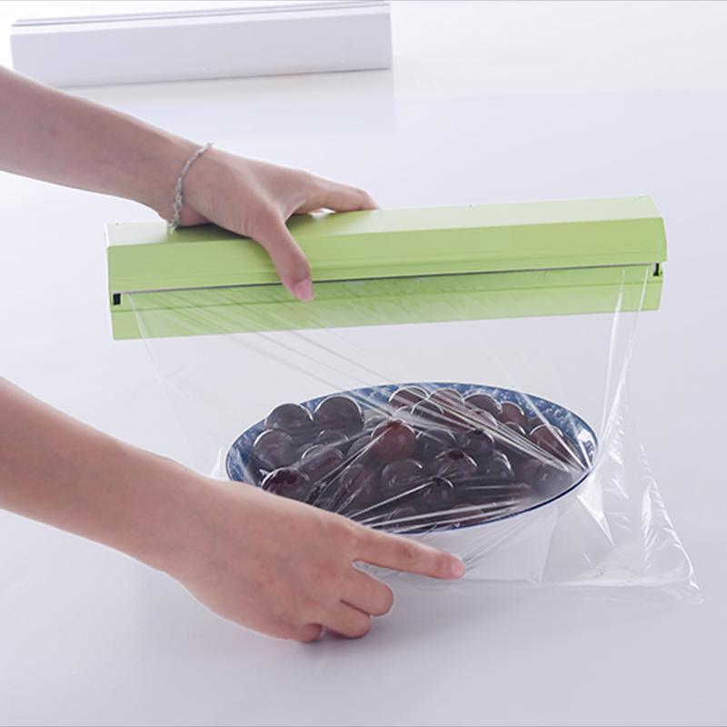 ญี่ปุ่นฟิล์มแม่เหล็กดูดตู้เย็นไมโครเวฟเครื่องตัดกล่องตัดฟิล์มได้รับการสร้างสรรค์โดยเชฟแกดเจ็ต