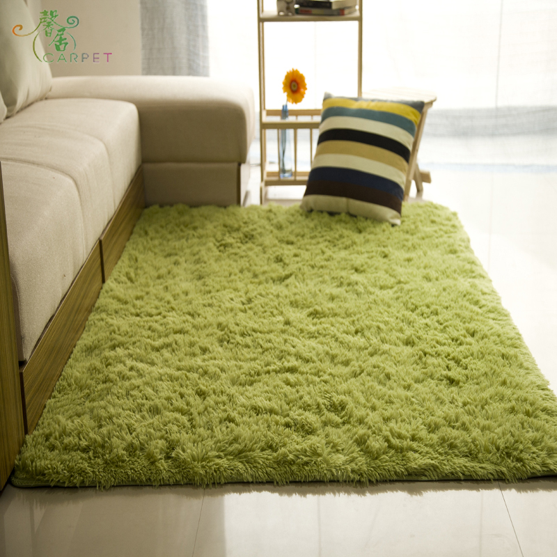 The living room bedroom bedside table window tatami mats custom washable silk carpet is not fade