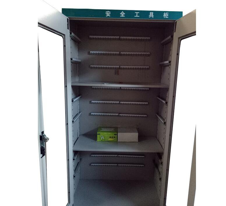 Custom hardware plastic parts, new double door folding tray, car drawer type four bags, five layer tool cabinet