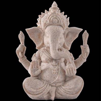 东南亚摆件泰国风格家居装饰品工艺品 象神 象鼻财神 印度古神像