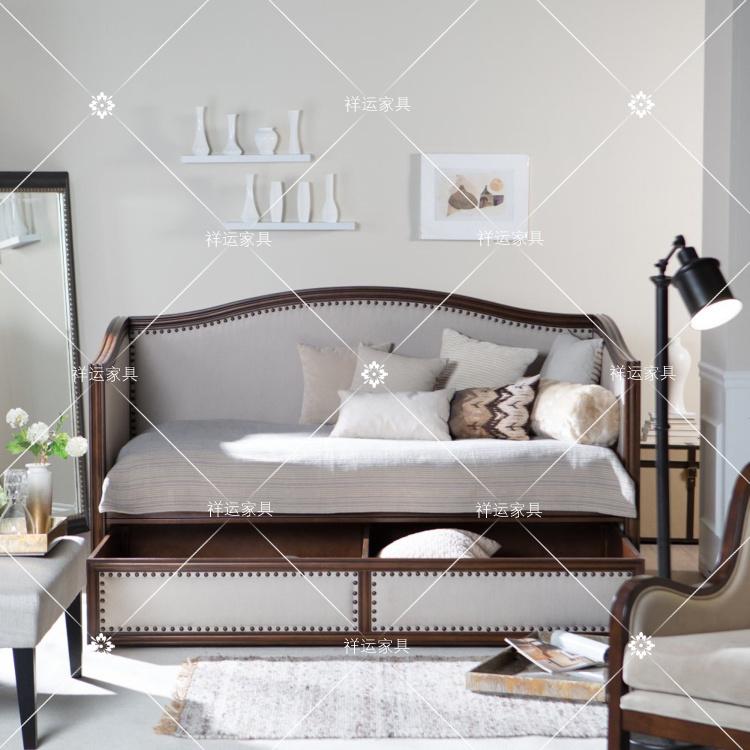 Σημείο αμερικάνικο χωριό ξύλο ένταση πτυσσόμενο καναπέ - κρεβάτι Ευρωπαϊκό μικρό σαλόνι den γραφείο διπλό κρεβάτι