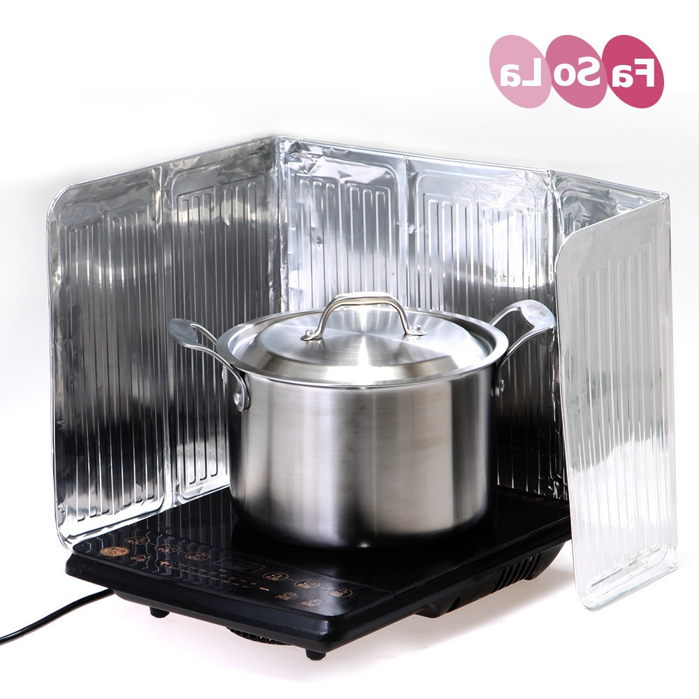 Japan buy ZQFaSoLa kitchen oil baffle, oil baffle, insulated aluminum foil anti oil baffle, gas stove anti oil