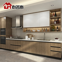 The simplicity of modern economic type kitchen cabinet customized packages of carbon nano plate integral ambry Custom House custom