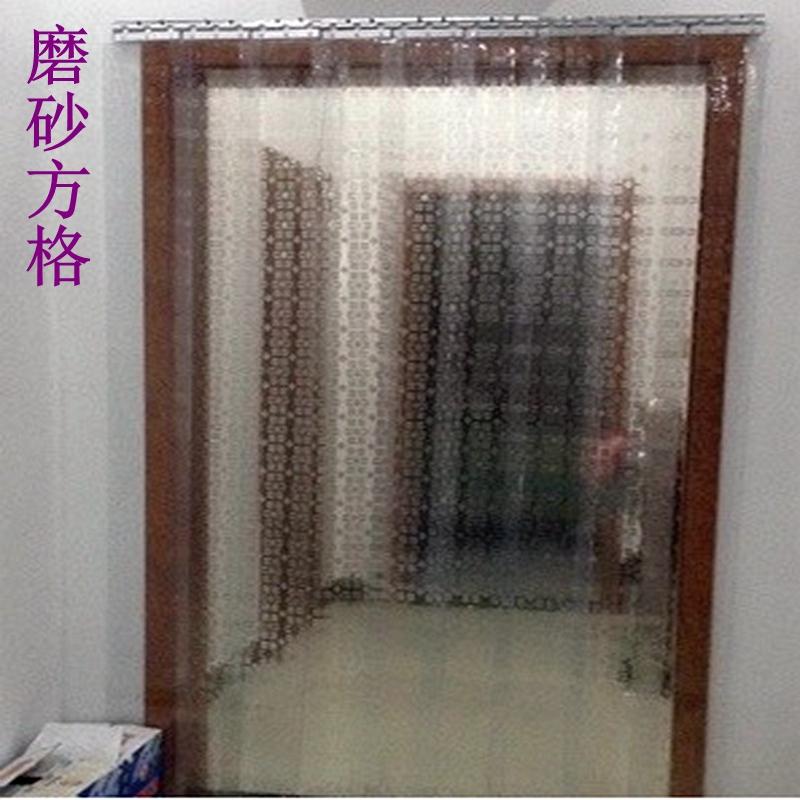 PVC nhựa trong suốt mùa hè, cô lập gia đình da rèm mui xe máy điều hòa mềm rèm cửa cửa hàng thương mại cách nhiệt