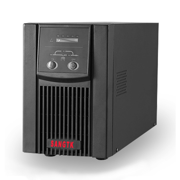 SANGTKUPS uninterruptible power supply, C2K/2000VA/1600W built-in battery, online voltage stabilized package