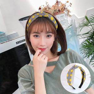 2018新款网红发箍女韩国甜美森女系头饰品洗脸发带发卡子超仙头箍
