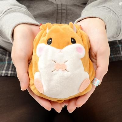 日本限定 CorohamCoron 小鼠 束口袋 零钱包 杂物小收纳袋 化妆包