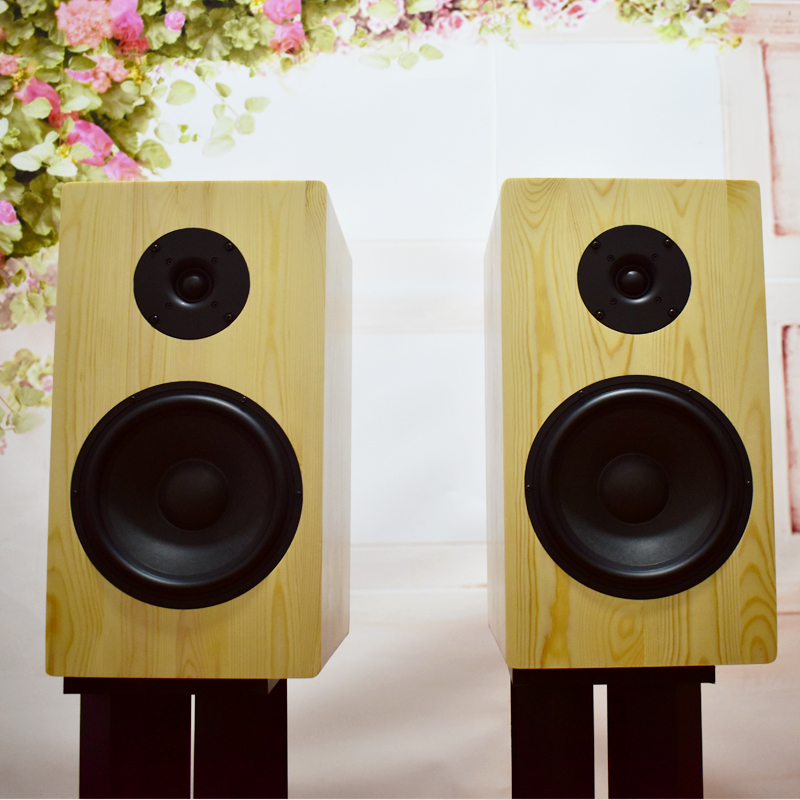 6.5 inch 8 inch pre encircling DIY raw wood home fever HIFI bookshelf monitor class passive 2